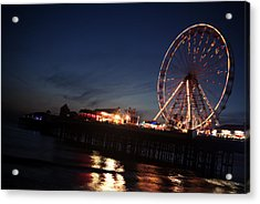 Big Wheel Acrylic Print by Aetherial Pictography