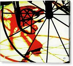 Acrylic Print featuring the photograph Big Wheel by Newel Hunter