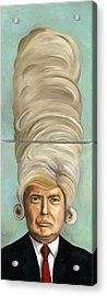 Big Wig Acrylic Print by Leah Saulnier The Painting Maniac