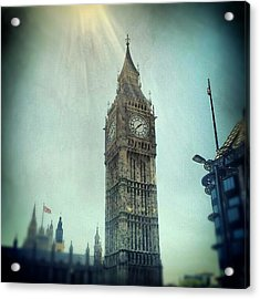 #bigben #uk #england #london #londoneye Acrylic Print