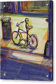 Bike At Rest Acrylic Print