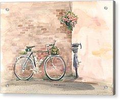 Bike Date Acrylic Print