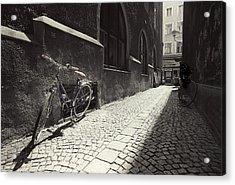 Bike Acrylic Print by Mark Wagoner