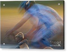 Bike Race 2 Acrylic Print by Catherine Lau