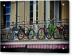 Bikes On Top Acrylic Print