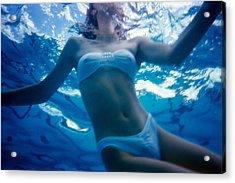 Bikini Acrylic Print by Dragan Kudjerski