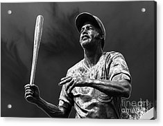 Billy Williams - H O F Acrylic Print by David Bearden