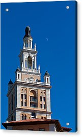 Acrylic Print featuring the photograph Coral Gables Biltmore Hotel Tower by Ed Gleichman