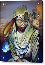 Binky's Mistress Acrylic Print by Patrick Anthony Pierson