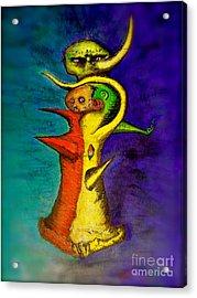Biohazard  Voodoo Acrylic Print by Raul Morales