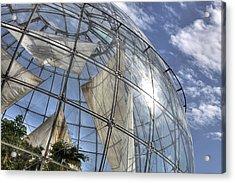 biosfera in Genoa Acrylic Print by Joana Kruse