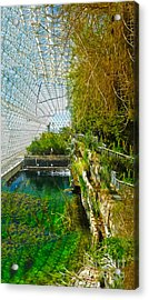 Biosphere2 - Environment 1 Acrylic Print by Gregory Dyer