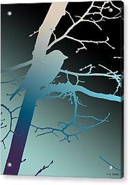 Bird At Twilight Acrylic Print
