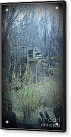 Bird's Haven In The Fall Acrylic Print