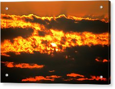 Birth Of A Sun Acrylic Print by Metro DC Photography