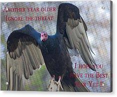 Birthday Card 1 Acrylic Print by Dennis Hofelich