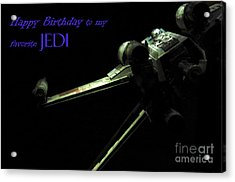 Birthday Card Acrylic Print by Micah May