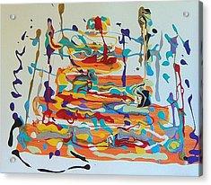 Birthday Acrylic Print by Helene Henderson