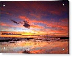 Birubi Sunset Acrylic Print