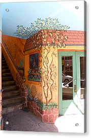 Bisbee Wall Art Acrylic Print by Feva  Fotos