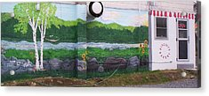 Biscuit's Bakery Mural Acrylic Print by SHER Millis