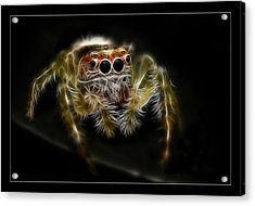 Acrylic Print featuring the digital art Bite Me by Kevin Chippindall