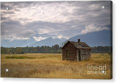 Bitterroot Homestead Acrylic Print by Idaho Scenic Images Linda Lantzy