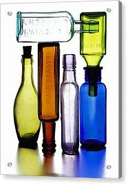 Bitters Bottles Acrylic Print by Michael Kraus