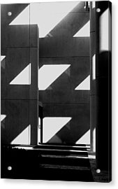 Black And White  Acrylic Print by Stuart Brown