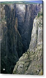 Black Canyon National Park Close View Acrylic Print