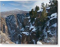 Black Canyon Of The Gunnison Acrylic Print by David Waldrop