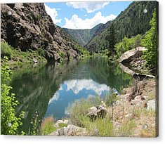 Black Canyon River Acrylic Print