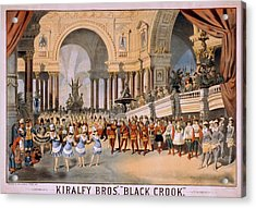 Black Crooks Was First Produced In New Acrylic Print by Everett