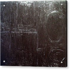 Black Interior  Acrylic Print by Kazuya Akimoto