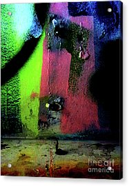 Acrylic Print featuring the photograph Black Light by Newel Hunter
