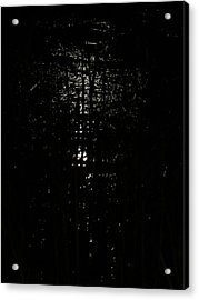Black Night Acrylic Print