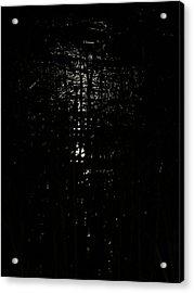 Black Night Acrylic Print