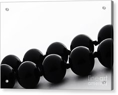 Black Pearls Acrylic Print by Blink Images