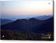 Black Rock Mountain-36 Acrylic Print