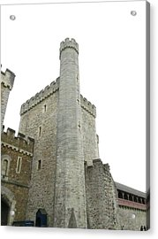 Black Tower Acrylic Print