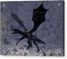 Black Vengeance Acrylic Print by Tea Aira