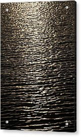 Black Water Acrylic Print by Miguel Capelo