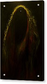 Black Widow Pulsar Acrylic Print by Alizey Khan