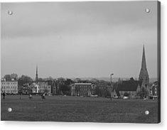 Acrylic Print featuring the photograph Blackheath Village by Maj Seda