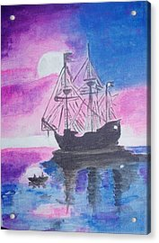 Blackpearl Acrylic Print