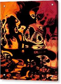 Blasphemy Swirls Acrylic Print