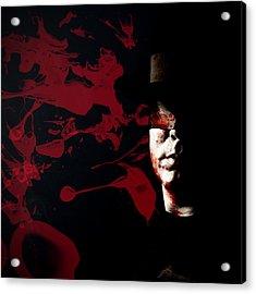 Bleeding Self Acrylic Print by Monte Arnold