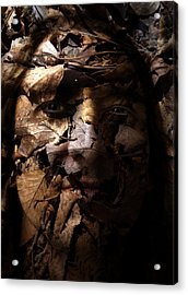 Blending In Acrylic Print by Christopher Gaston
