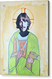 Blessed George Acrylic Print by Philip Atkinson