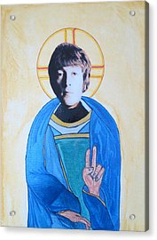 Blessed John Acrylic Print by Philip Atkinson